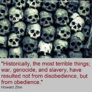 Obedience is the killer