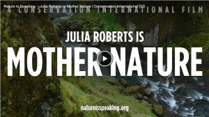 Julia Roberts is Mother Nature